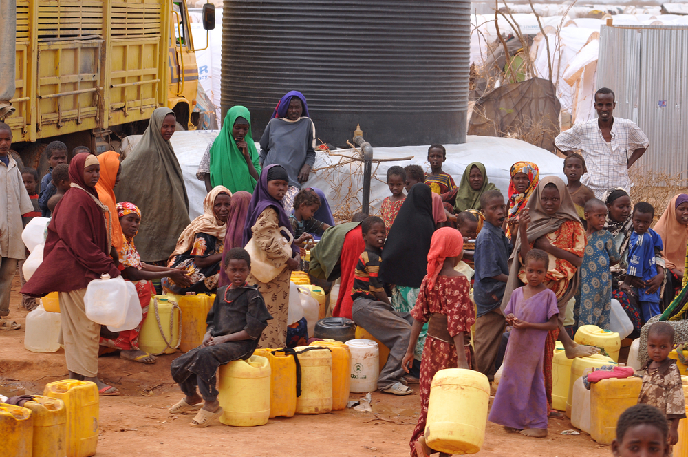 refugee water scarcity crisis